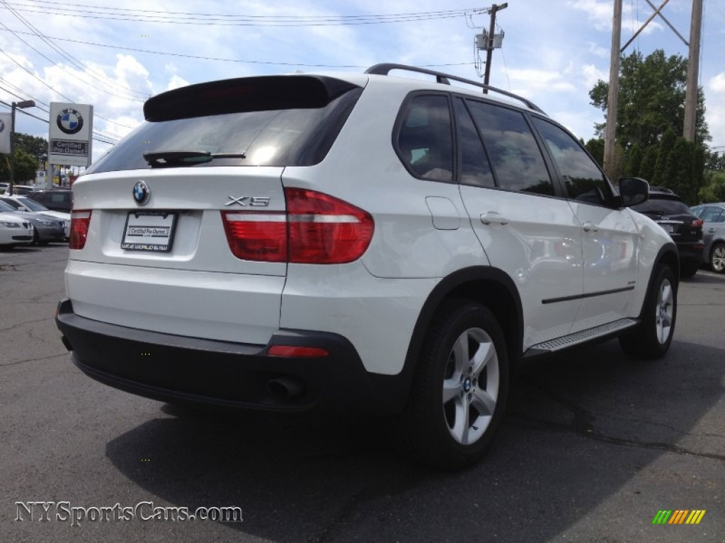 2009 bmw x5 xdrive30i in alpine white photo #4 - 268200