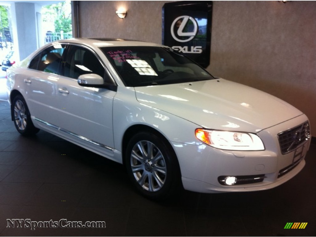 2010 volvo s80 3 2 in ice white 118549 nysportscars. Black Bedroom Furniture Sets. Home Design Ideas