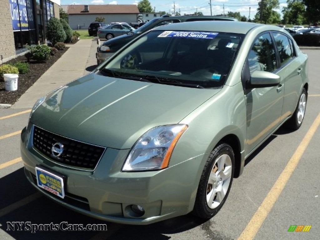 2008 Nissan Sentra 2.0 S in Metallic Jade Green - 709621 ...