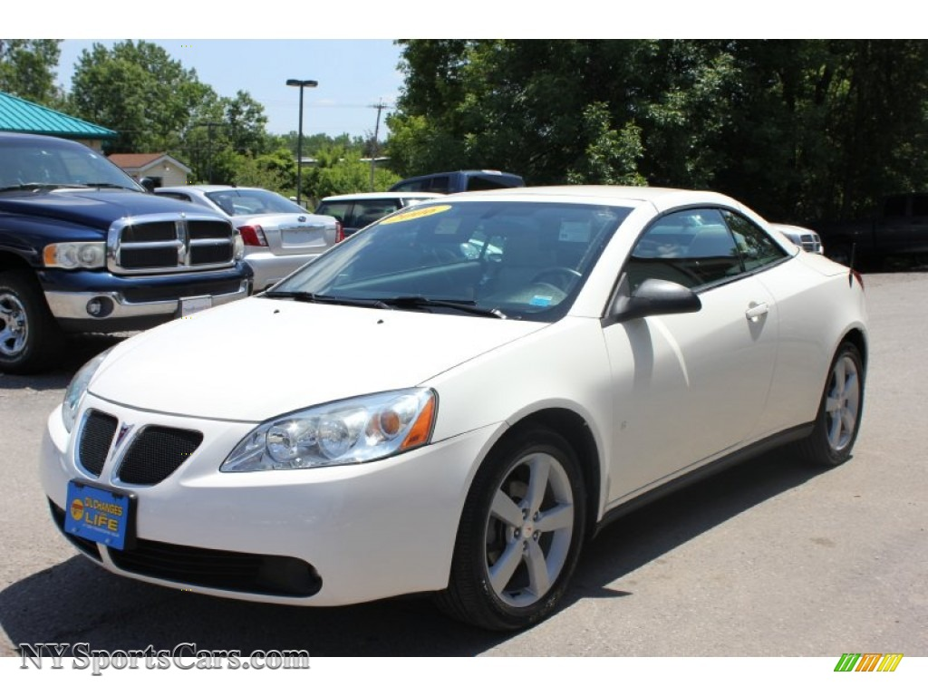 2007 Pontiac G6 Gt Convertible In Ivory White 147978 Nysportscars Com Cars For Sale In New