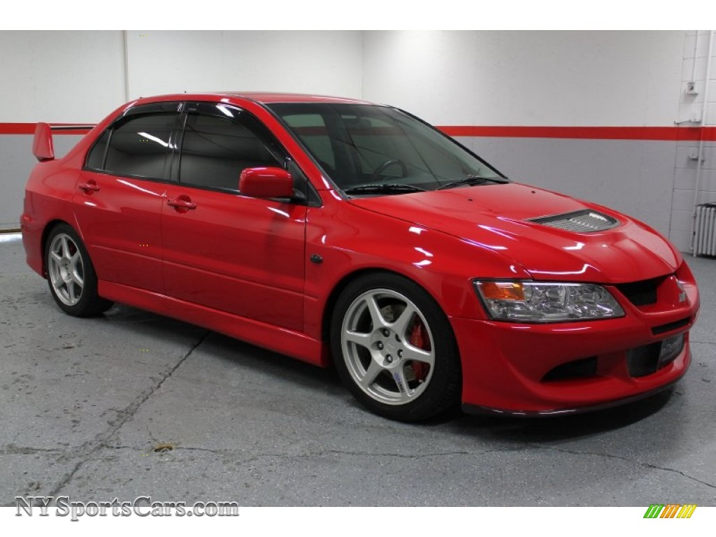 2003 mitsubishi lancer evolution viii in rally red. Black Bedroom Furniture Sets. Home Design Ideas
