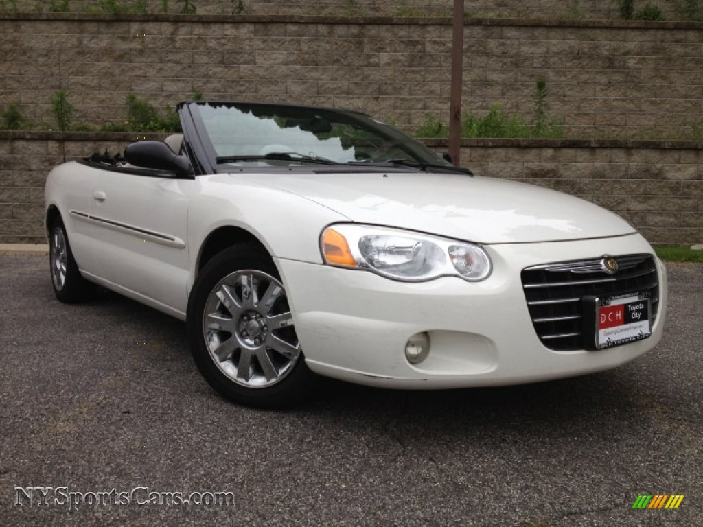 2004 chrysler sebring limited convertible in stone white 152841 cars for. Black Bedroom Furniture Sets. Home Design Ideas