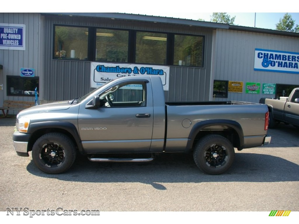 2006 dodge ram 1500 st regular cab in mineral gray. Black Bedroom Furniture Sets. Home Design Ideas