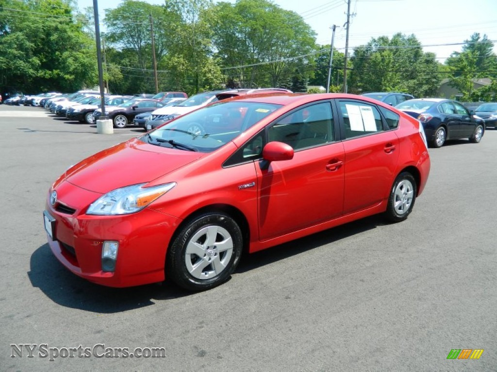 2010 toyota prius hybrid iii in barcelona red metallic 139955 cars for. Black Bedroom Furniture Sets. Home Design Ideas