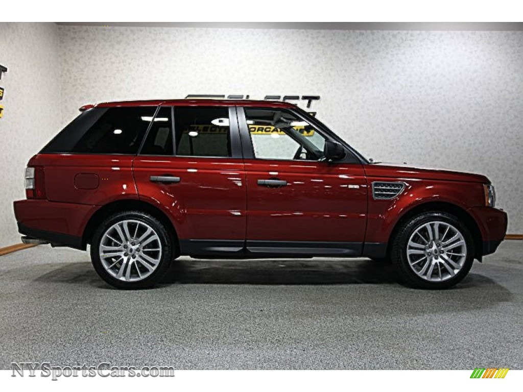 2009 Land Rover Range Sport Supercharged In Rimini Red 2004 Transmission Wiring Diagram Metallic Ebony Photo 4