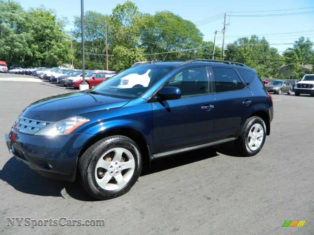 2005 nissan murano sl awd in midnight blue pearl 421674. Black Bedroom Furniture Sets. Home Design Ideas