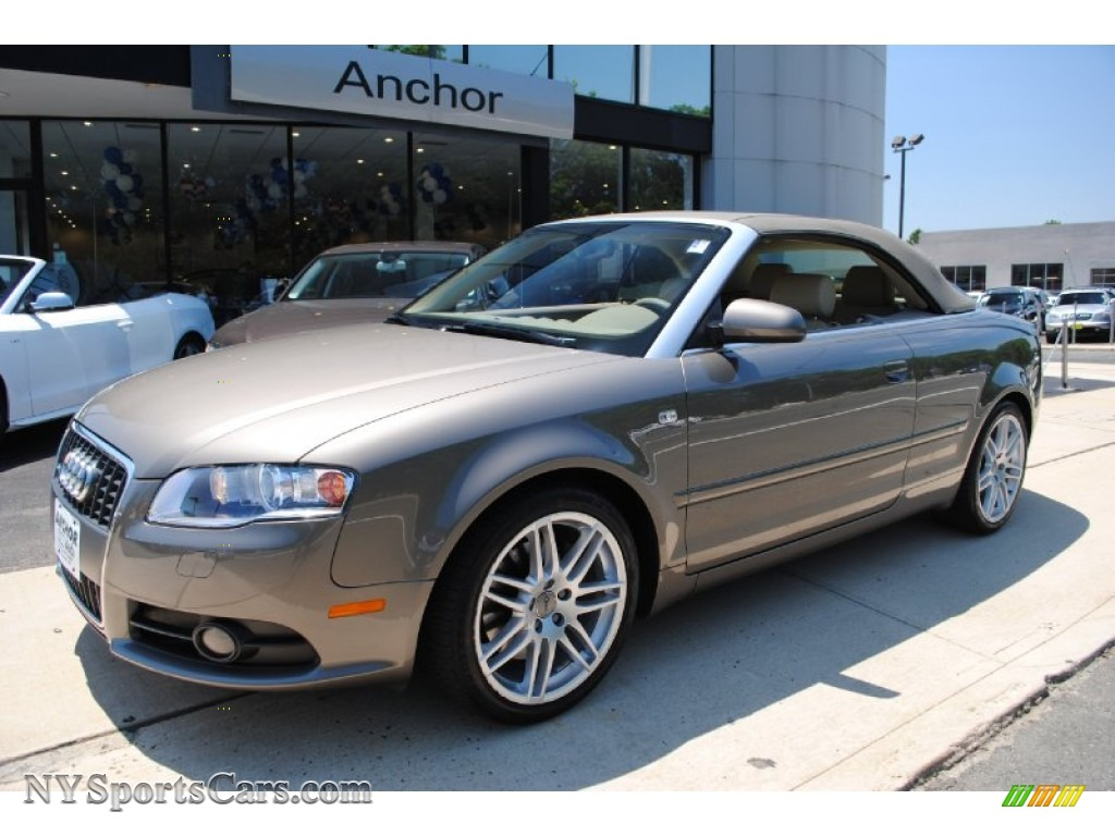 2009 Audi A4 For Sale >> 2009 Audi A4 2.0T quattro Cabriolet in Dakar Beige Metallic - 011131 | NYSportsCars.com - Cars ...