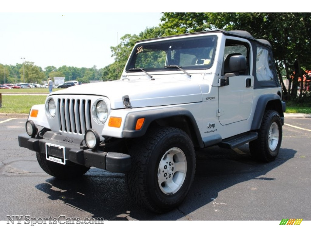 2003 jeep wrangler sport 4x4 in bright silver metallic 343472 cars for. Black Bedroom Furniture Sets. Home Design Ideas