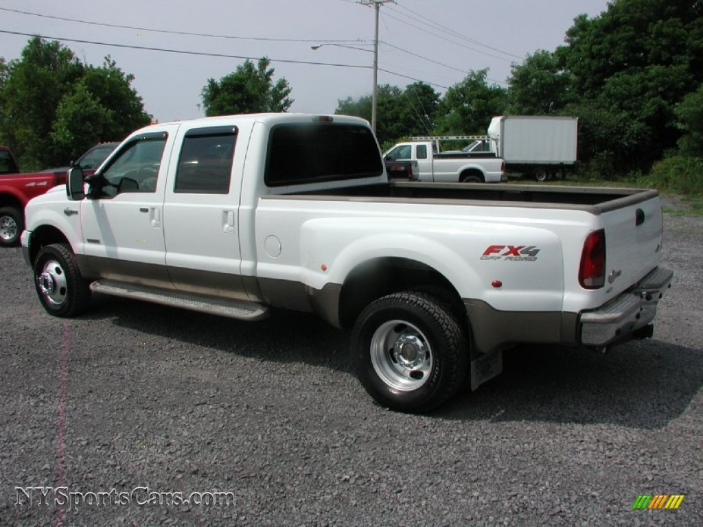 2006 ford f350 super duty king ranch crew cab 4x4 dually in oxford white photo 8 a20931