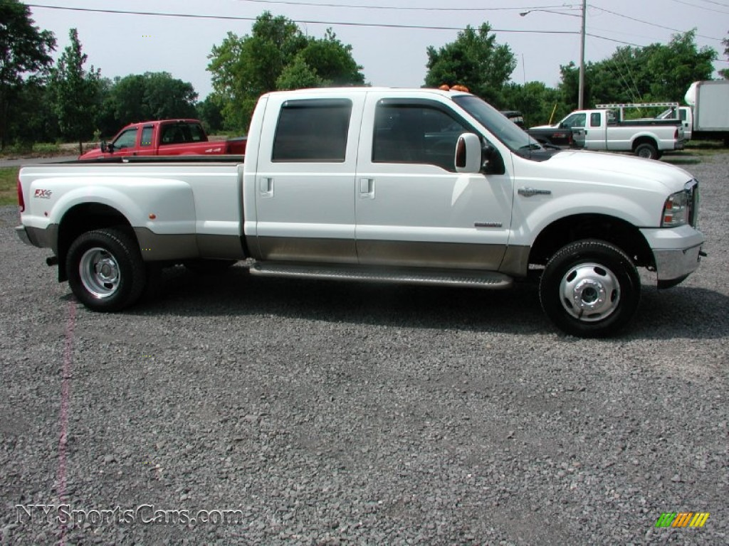 2006 ford f350 super duty king ranch crew cab 4x4 dually in oxford white photo 20 a20931. Black Bedroom Furniture Sets. Home Design Ideas