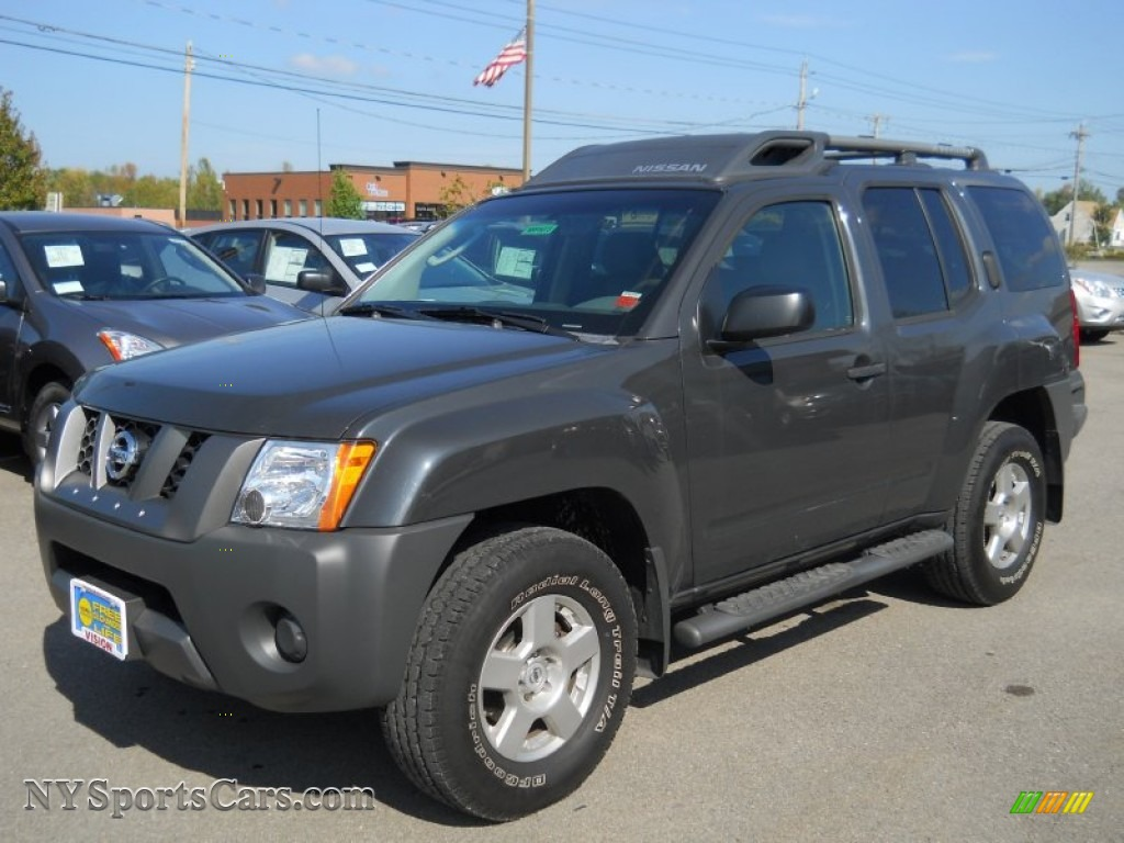 2008 Nissan Xterra S 4x4 In Night Armor Dark Gray 537464