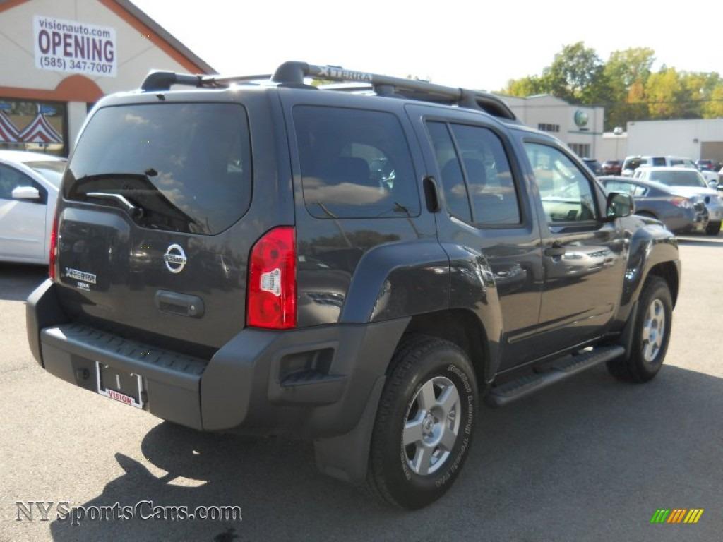 2008 Nissan Xterra S 4x4 In Night Armor Dark Gray Photo 2
