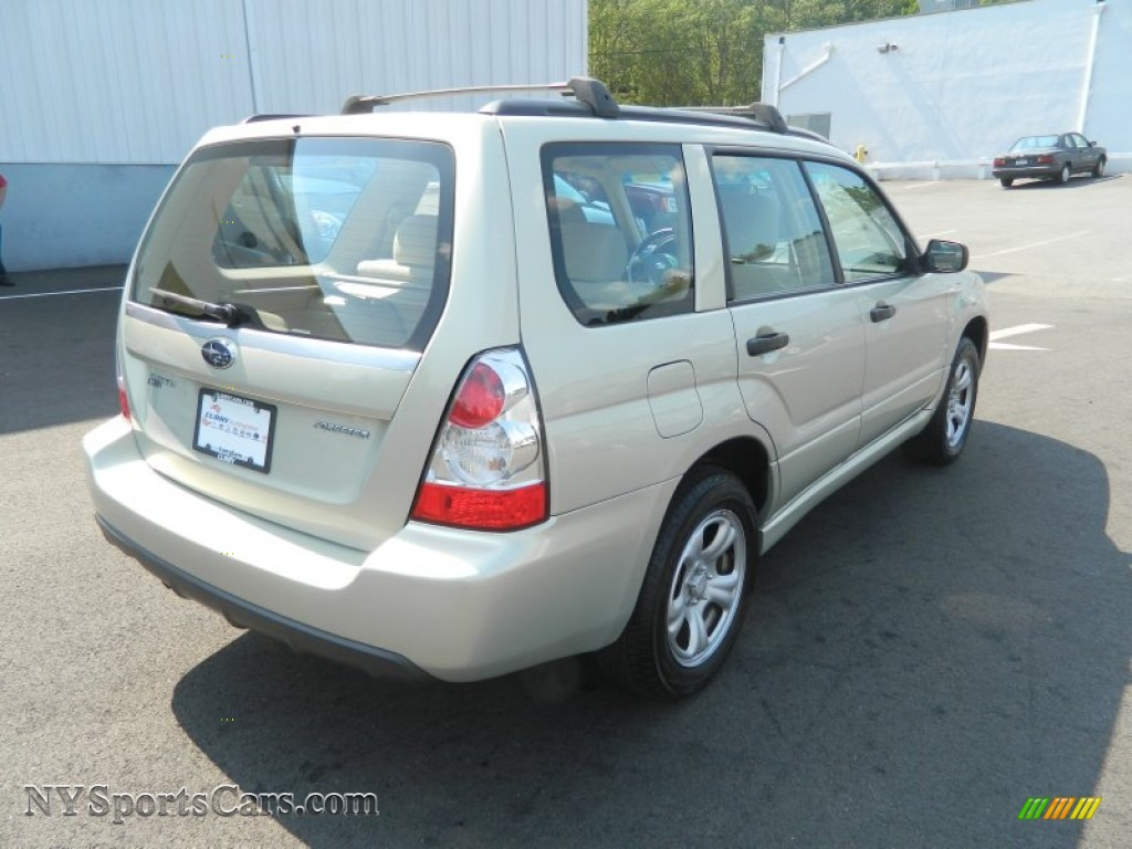 2007 Subaru Forester 2 5 X In Champagne Gold Opal Photo 5