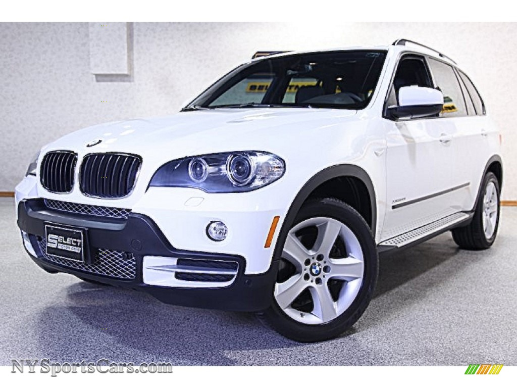 2009 bmw x5 xdrive30i in alpine white 270362 cars for sale in new york. Black Bedroom Furniture Sets. Home Design Ideas