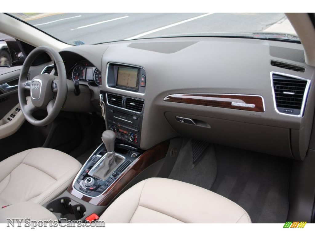 2011 Q5 2.0T Quattro   Teak Brown Metallic / Cardamom Beige Photo #10
