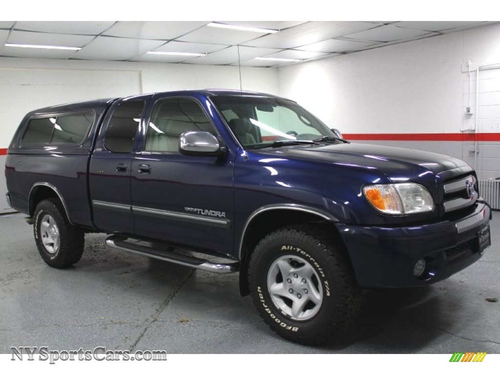 2003 toyota tundra sr5 access cab 4x4 in stratosphere blue mica 395426. Black Bedroom Furniture Sets. Home Design Ideas