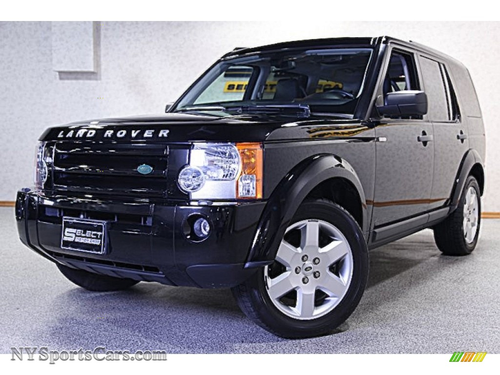 Santorini black metallic ebony land rover lr3 se