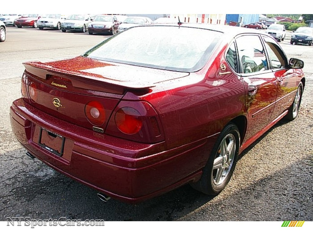 2005 chevrolet impala ss supercharged in sport red metallic photo 10 199631 nysportscars. Black Bedroom Furniture Sets. Home Design Ideas