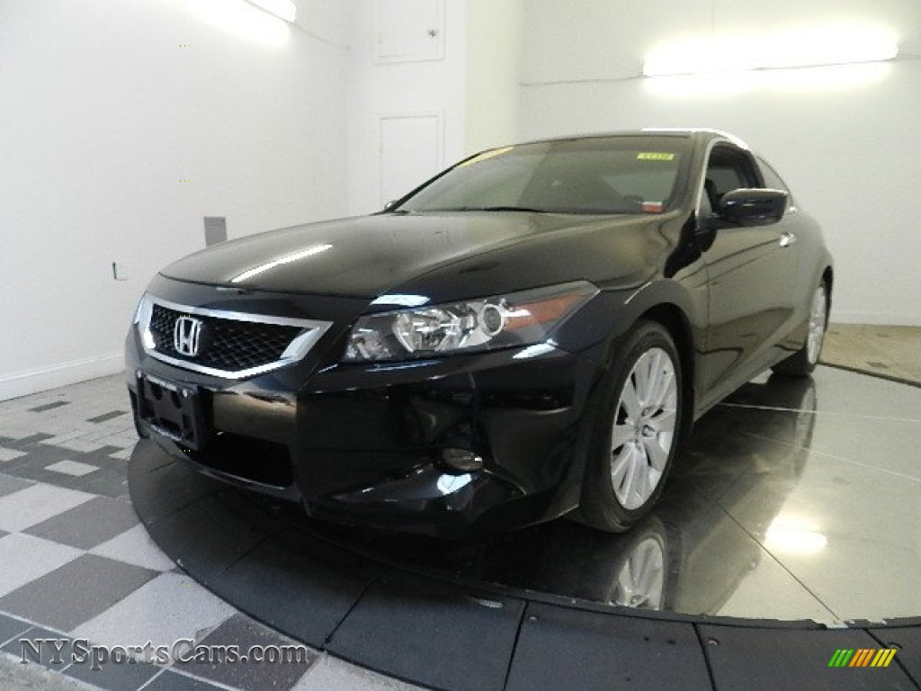2008 honda accord ex l v6 coupe in nighthawk black pearl 003844 cars for. Black Bedroom Furniture Sets. Home Design Ideas