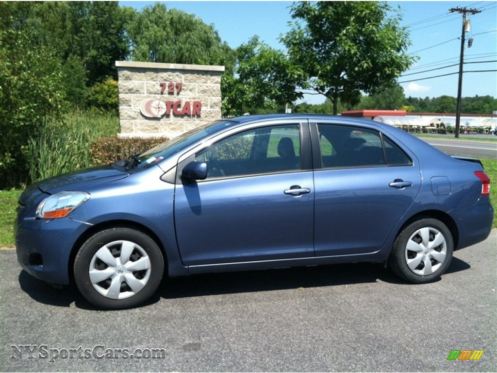 2008 toyota yaris sedan in pacific blue metallic 289731 cars for sale in. Black Bedroom Furniture Sets. Home Design Ideas