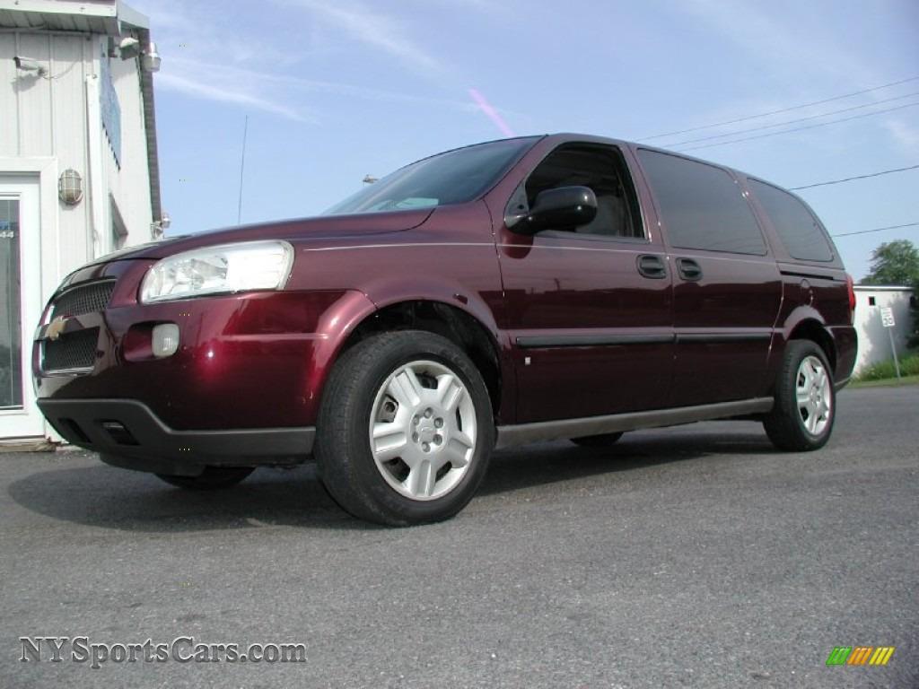 2006 chevrolet uplander ls in bordeaux red metallic 119618 cars for sale. Black Bedroom Furniture Sets. Home Design Ideas