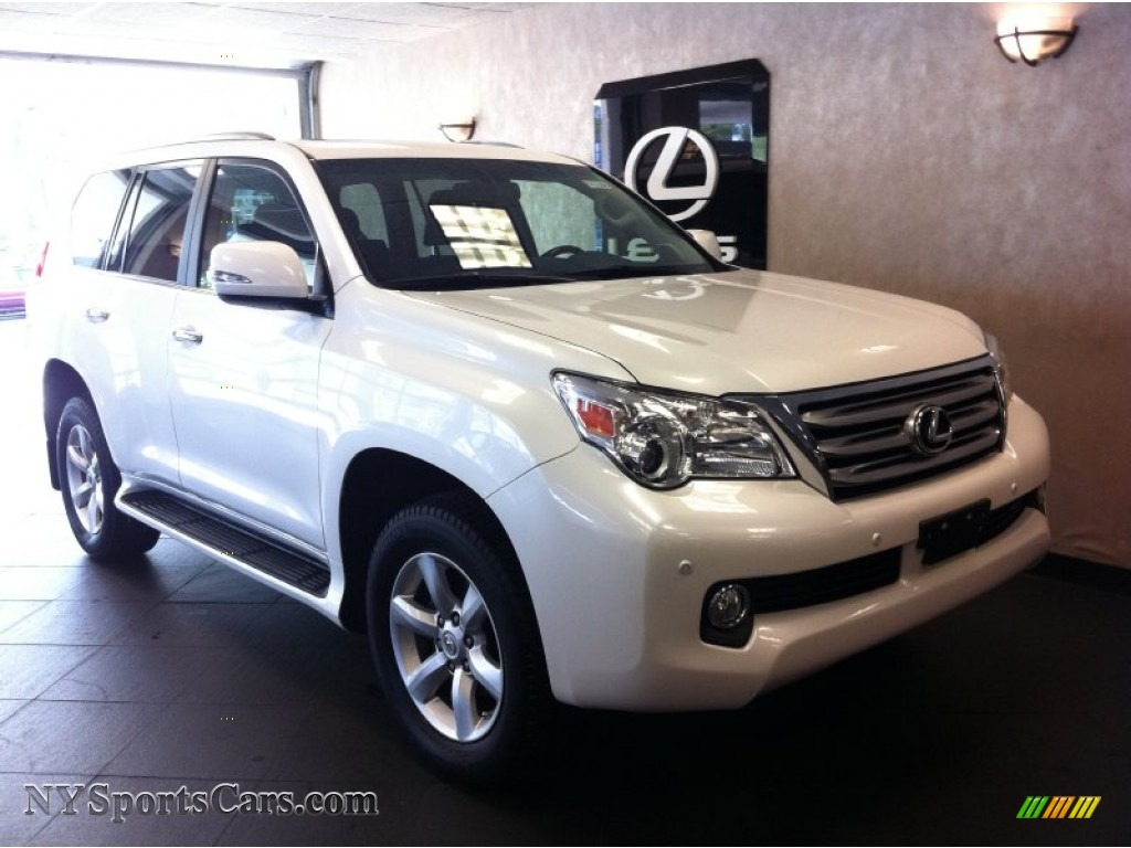 2011 lexus gx 460 in starfire white pearl 017847. Black Bedroom Furniture Sets. Home Design Ideas