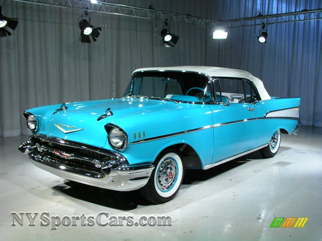 1957 chevrolet bel air convertible in turquoise 145870 cars for sale in. Black Bedroom Furniture Sets. Home Design Ideas