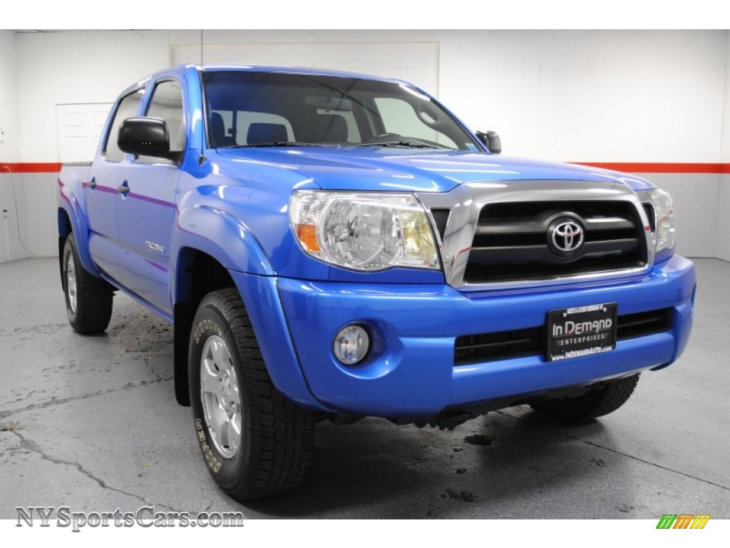 2005 toyota tacoma v6 trd double cab 4x4 in speedway blue photo 2 027983. Black Bedroom Furniture Sets. Home Design Ideas