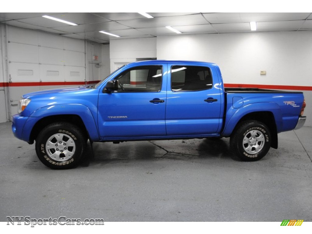 2005 toyota tacoma v6 trd double cab 4x4 in speedway blue photo 9 027983. Black Bedroom Furniture Sets. Home Design Ideas