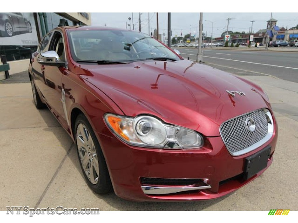 2009 jaguar xf luxury in radiance red metallic photo 8 r10225 cars for. Black Bedroom Furniture Sets. Home Design Ideas