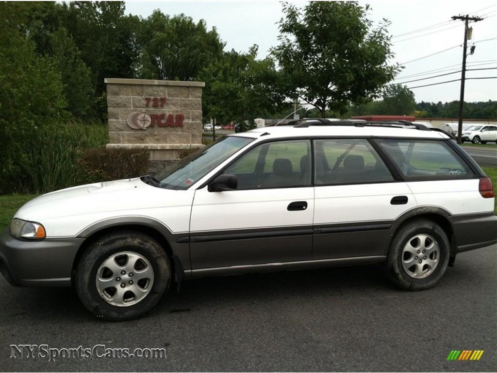 1999 Subaru Legacy Outback Wagon In Glacier White 638752