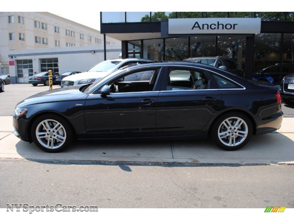 2012 Audi A6 3 0t Quattro Sedan In Moonlight Blue Metallic