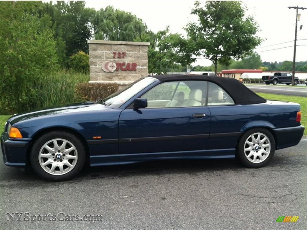 BMW Series I Convertible In Montreal Blue Metallic - 1997 bmw 328i convertible