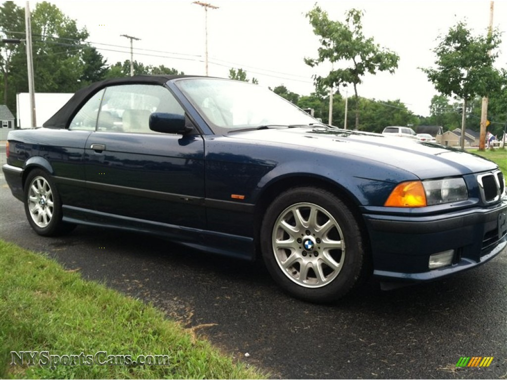 1997 bmw 3 series 328i convertible in montreal blue metallic photo 5 t98192 nysportscars. Black Bedroom Furniture Sets. Home Design Ideas