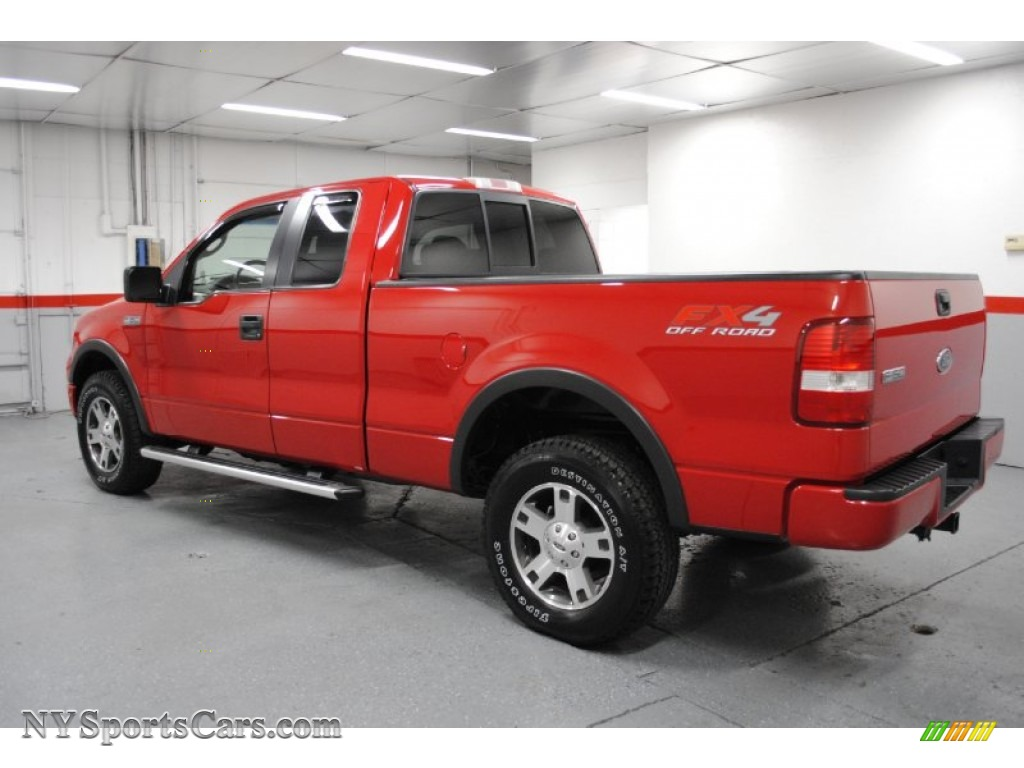 2005 ford f150 fx4 supercab 4x4 in bright red photo 9. Black Bedroom Furniture Sets. Home Design Ideas