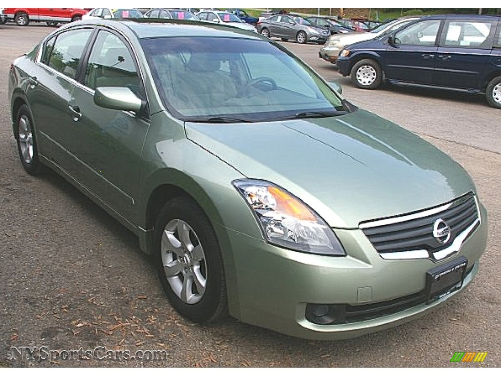 2008 Nissan Altima 2 5 S In Metallic Jade Photo 11
