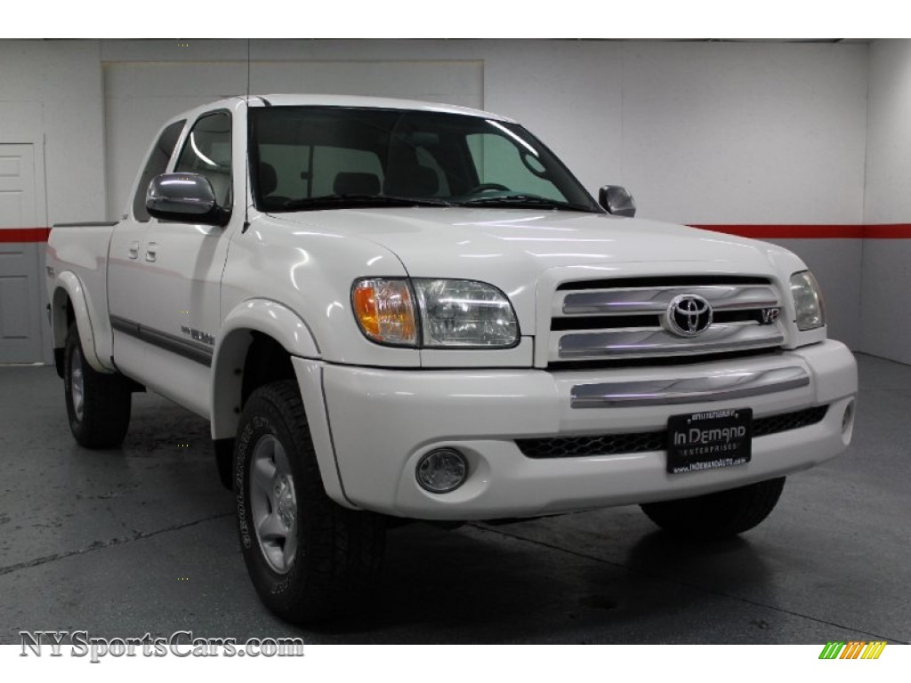 2004 toyota tundra sr5 access cab 4x4 in natural white photo 2 455483. Black Bedroom Furniture Sets. Home Design Ideas