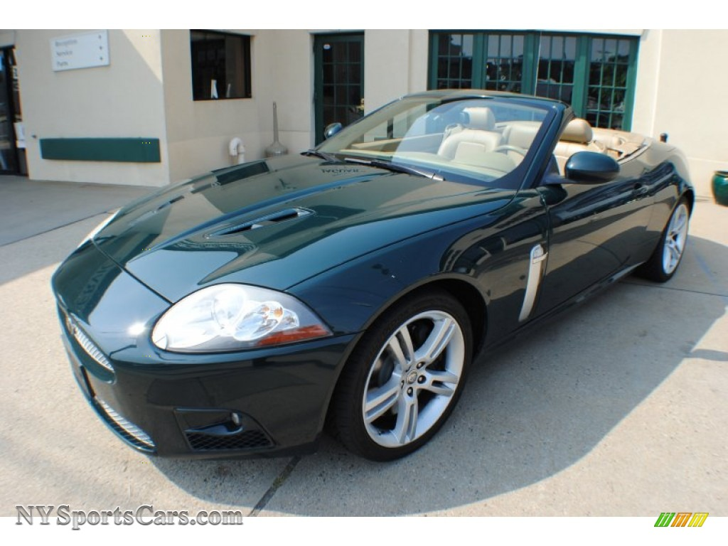 Acura Mdx 2016 Interior >> 2007 Jaguar XK XKR Convertible in British Racing Green ...