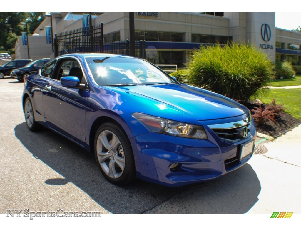 2011 Honda Accord Ex L V6 Coupe In Belize Blue Pearl
