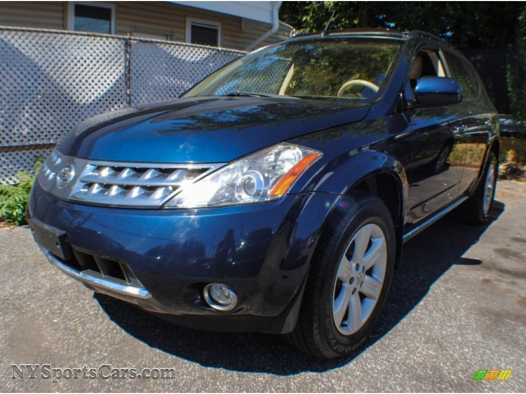 2006 Nissan Murano Sl Awd In Midnight Blue Pearl 545639