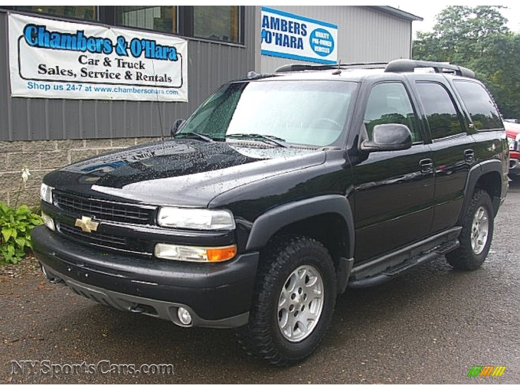 2005 Chevrolet Tahoe Z71 4x4 In Black 250743