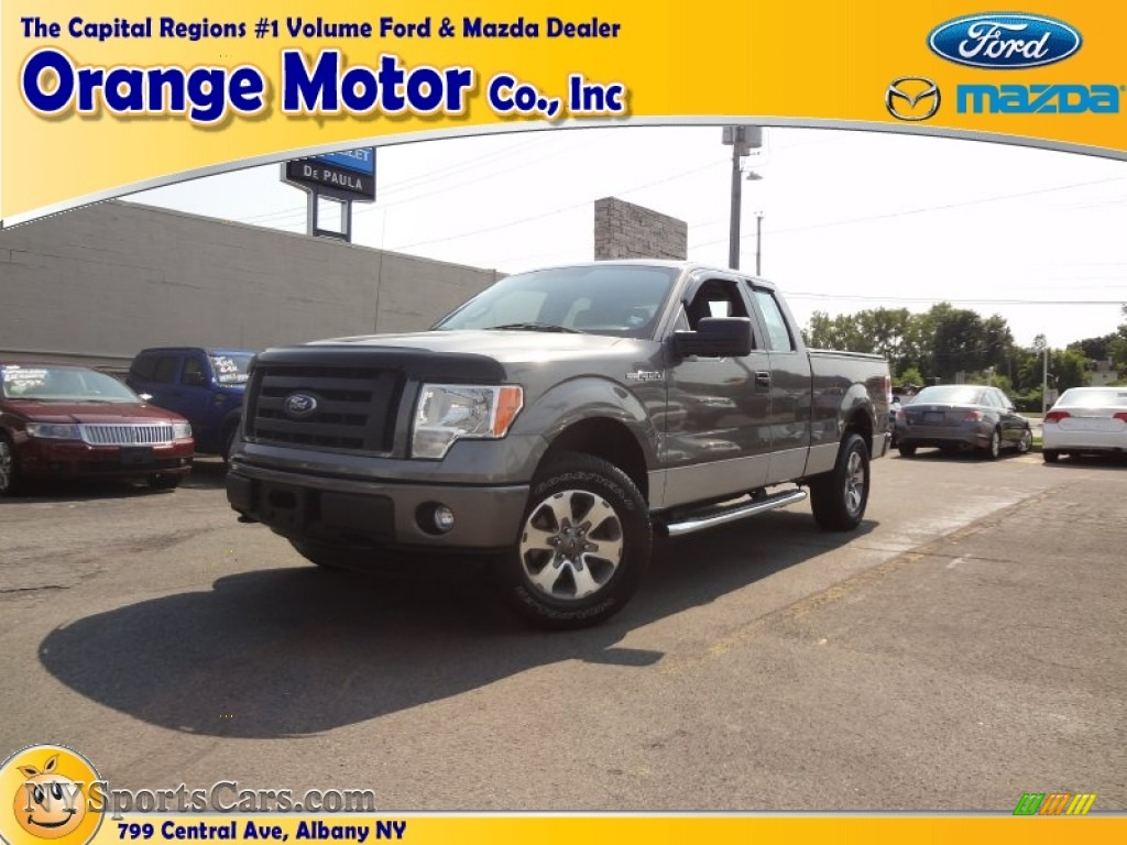 2011 ford f150 stx supercab 4x4 in sterling grey metallic for Orange motors albany new york