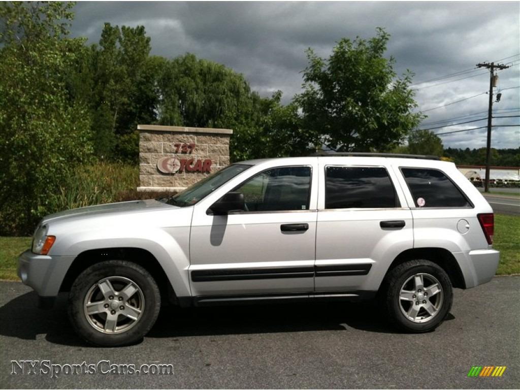 2006 jeep grand cherokee laredo 4x4 in bright silver metallic