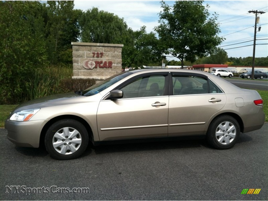 2003 honda accord lx sedan in desert mist metallic. Black Bedroom Furniture Sets. Home Design Ideas
