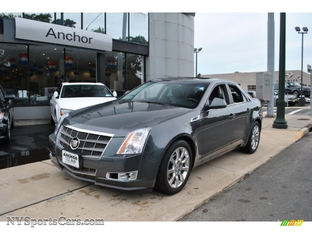 2008 Cadillac Cts Sedan In Thunder Gray Chromaflair