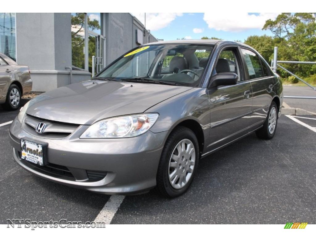 2005 Honda Civic LX Sedan in Magnesium Metallic - 526511 ...