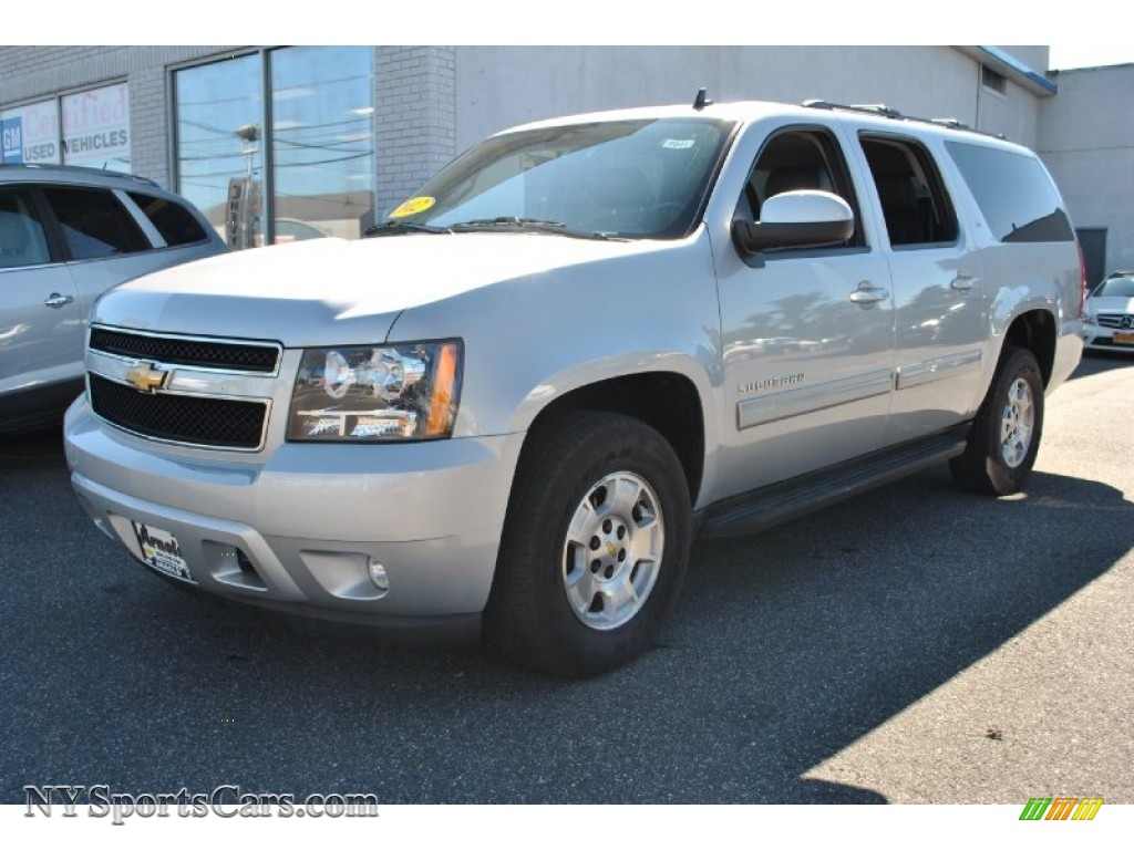 2012 chevrolet suburban lt 4x4 in silver ice metallic 106472 cars for. Black Bedroom Furniture Sets. Home Design Ideas