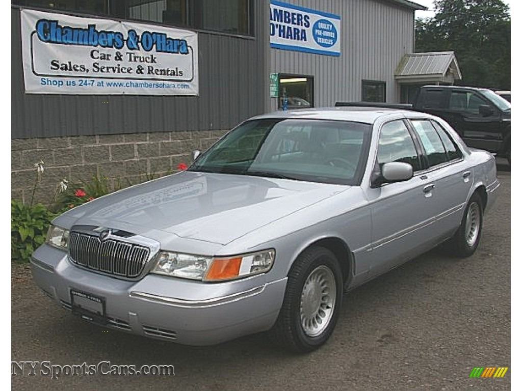2001 mercury grand marquis ls in silver frost metallic 633128 nysportscars com cars for sale in new york nysportscars com