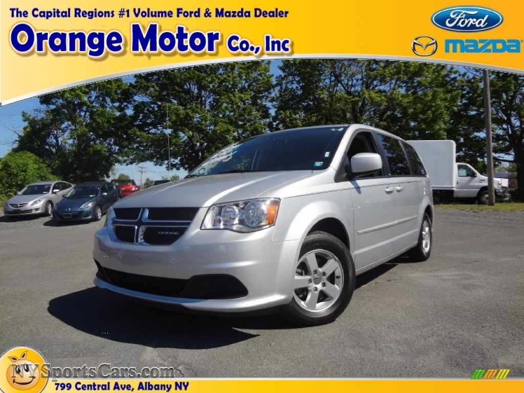 2012 dodge grand caravan sxt in bright silver metallic for Orange motors albany new york
