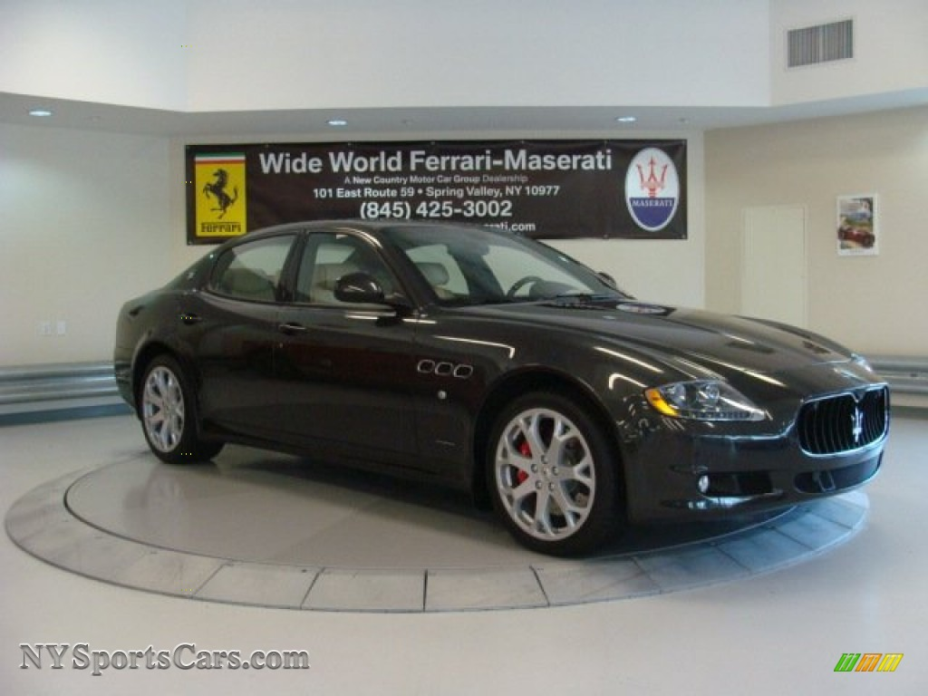 2013 maserati quattroporte s in grigio granito dark grey. Black Bedroom Furniture Sets. Home Design Ideas
